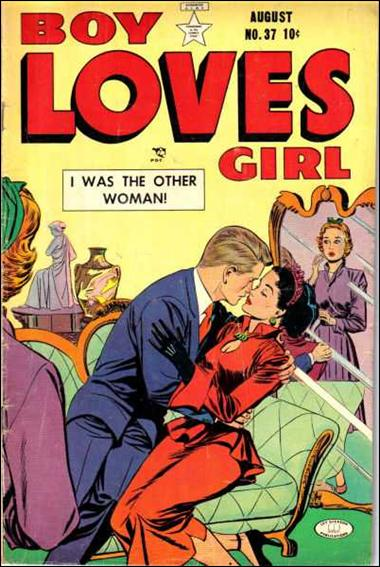 Boy Loves Girl 37-A by Lev Gleason Productions