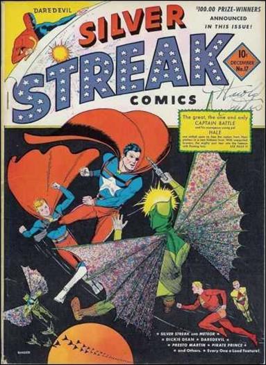 Silver Streak Comics (1939) 17-A by Lev Gleason Productions