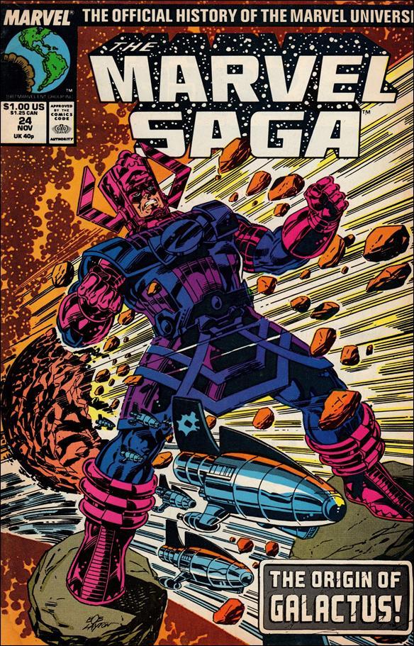 Marvel Saga 24-A by Marvel