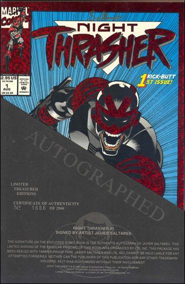 Night Thrasher 1-B by Marvel