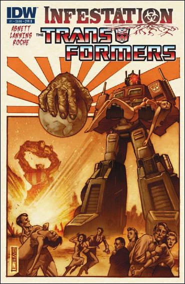 Transformers: Infestation 1-B by IDW