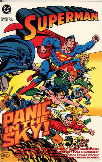 Superman: Panic In The Sky 1-A by DC