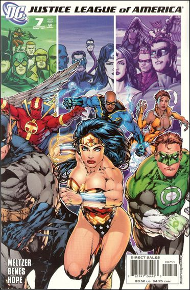 Justice League of America (2006) 7-B by DC