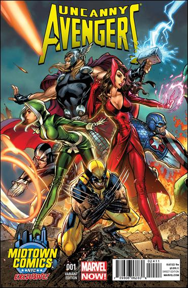 Uncanny Avengers 1-P by Marvel