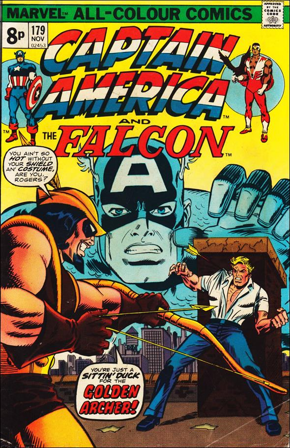 Captain America (1968) 179-B by Marvel