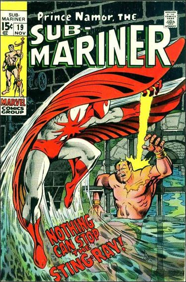 Sub-Mariner (1968) 19-A by Marvel