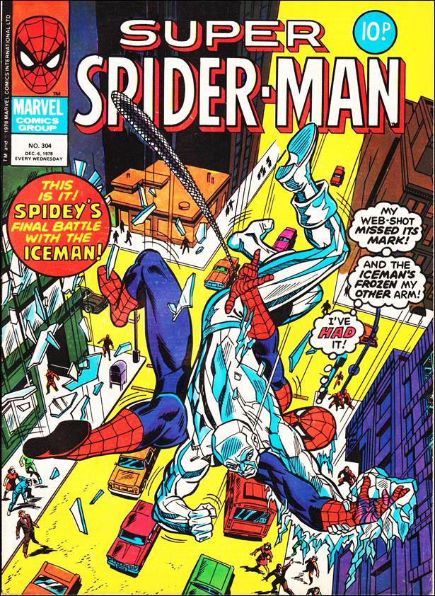 Spider-Man: Comics Weekly (UK) 304-A by Marvel UK