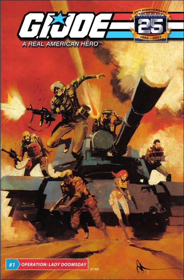G.I. Joe: A Real American Hero 1-B by IDW
