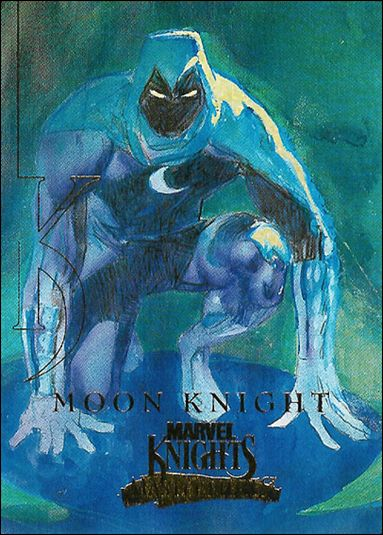 2008 Marvel Masterpieces: Series 3 (Marvel Knights Subset) MK7-A by Fleer