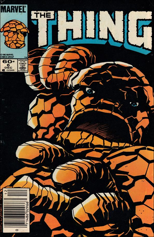 Thing (1983) 6-A by Marvel