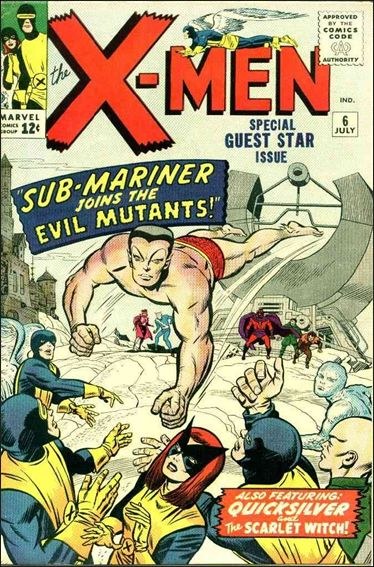 X-Men (1963) 6-A by Marvel