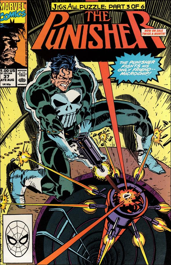 Punisher (1987) 37-A by Marvel