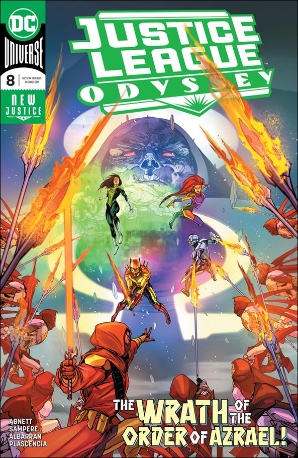 Justice League Odyssey 8-A by DC