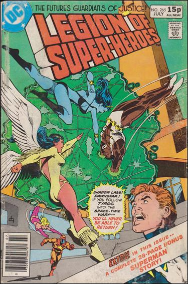 Legion of Super-Heroes (1980) 265-B by DC