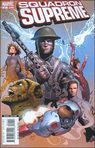 Squadron Supreme (2008) 1-A by Marvel