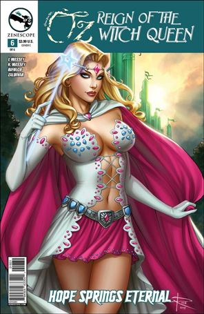 Grimm Fairy Tales Presents Oz: Reign of the Witch Queen 6-C