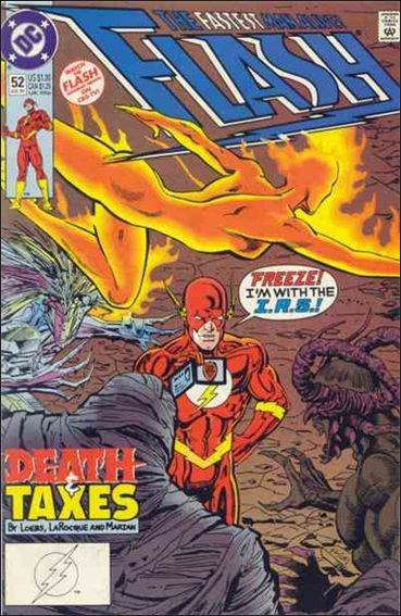Flash (1987) 52-A by DC