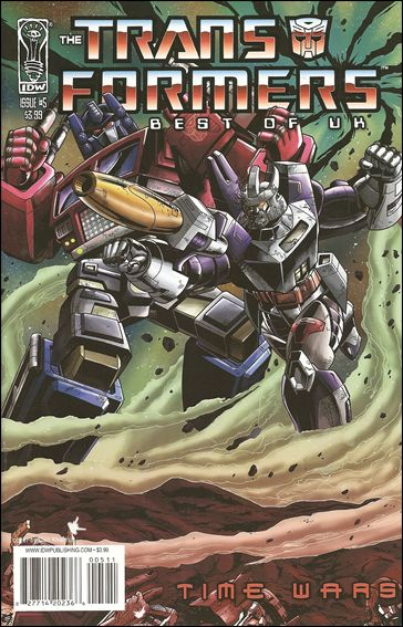 Transformers: Best of UK - Time Wars 5-A by IDW