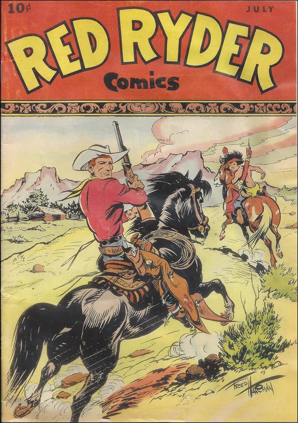 Red Ryder Comics 48-B by Dell