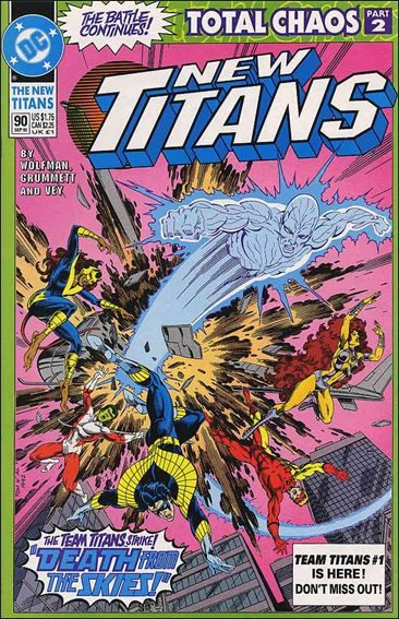 New Titans 90-A by DC