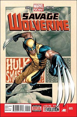 Savage Wolverine 5-A