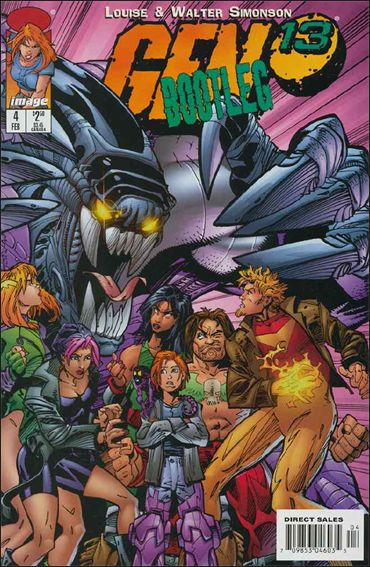 Gen13 Bootleg 4-A by WildStorm