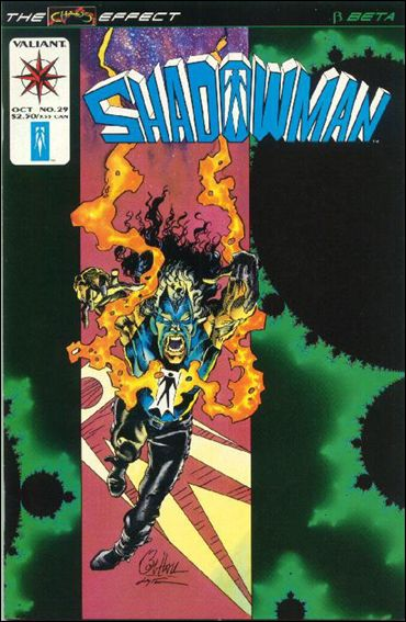 Shadowman (1992) 29-A by Valiant