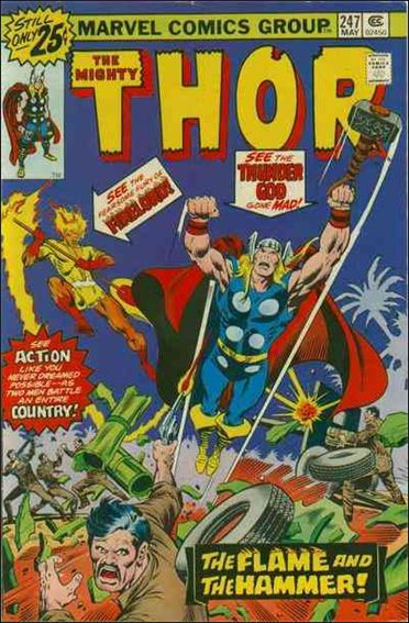Thor (1966) 247-A by Marvel