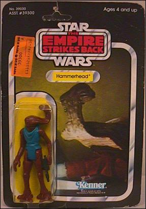 "Star Wars 3 3/4"" Basic Action Figures (Vintage) Hammerhead (ESB) by Kenner"
