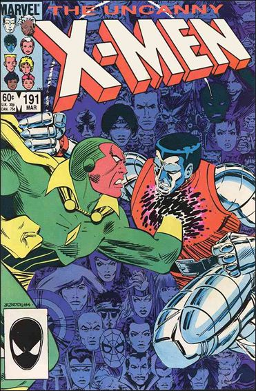 Uncanny X-Men (1981) 191-A by Marvel