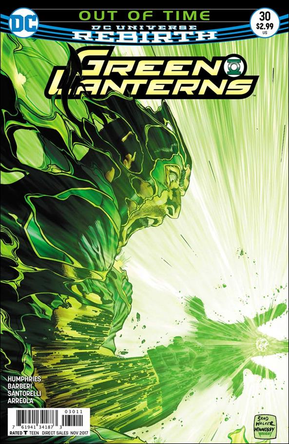 Green Lanterns 30-A by DC