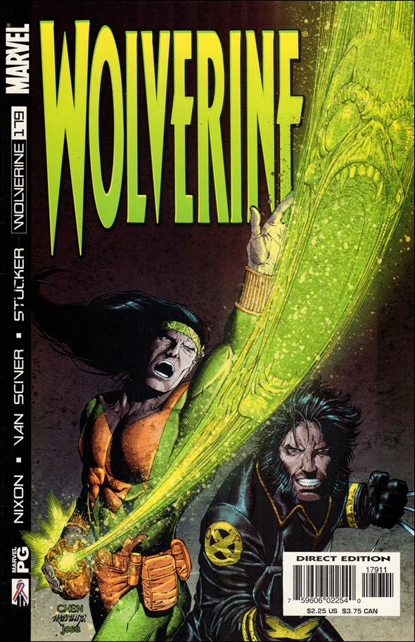 Wolverine (1988)  179-A by Marvel
