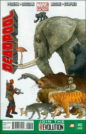 Deadpool (2013) 2-D by Marvel