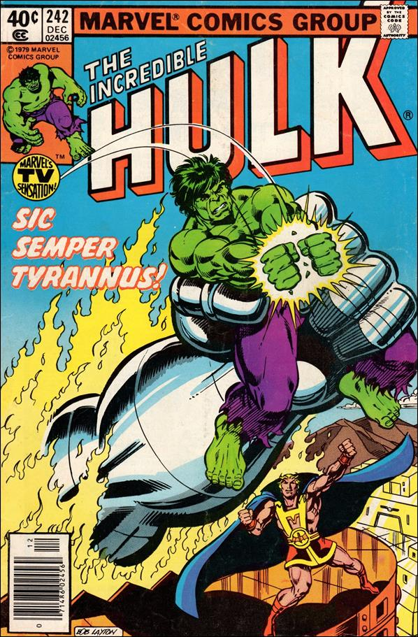 Incredible Hulk (1968) 242-A by Marvel