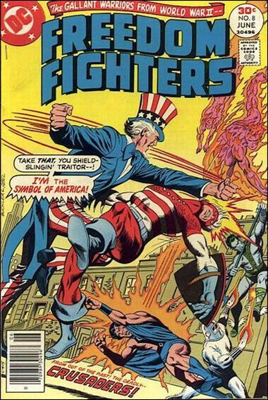 Freedom Fighters (1976) 8-A by DC