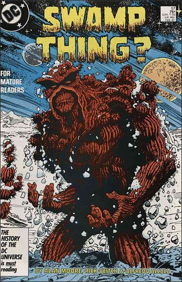 Swamp Thing (1986) 57-A by Vertigo