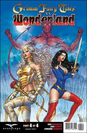 Grimm Fairy Tales Vs. Wonderland 4-A