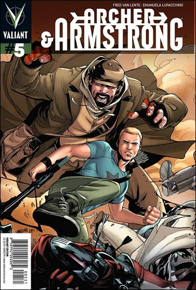 Archer & Armstrong (2012) 5-C by Valiant Entertainment