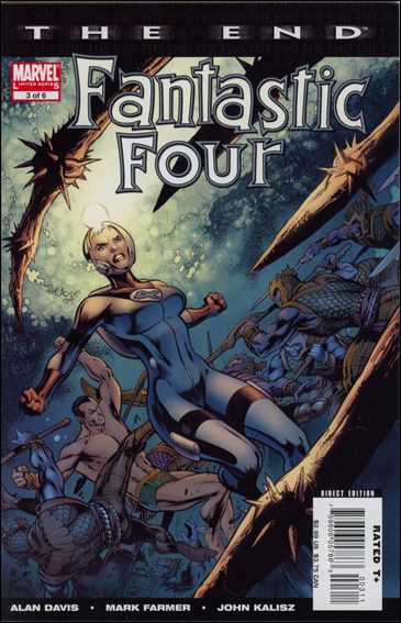 Fantastic Four: The End 3-A by Marvel
