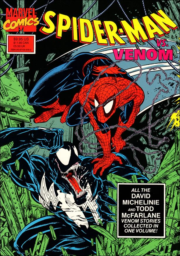 Spider-Man vs. Venom 1-B by Marvel