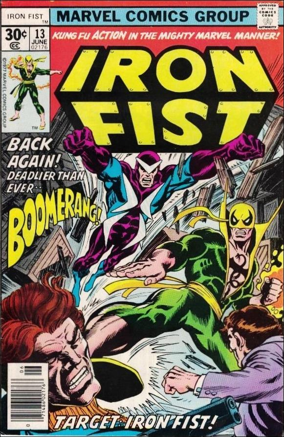 Iron Fist (1975) 13-A by Marvel
