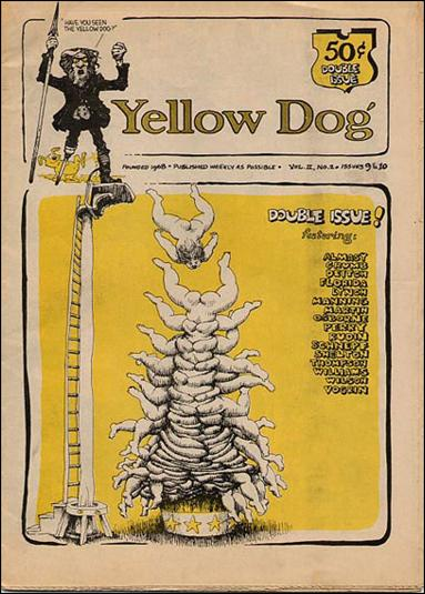 Yellow Dog 9-B by Print Mint
