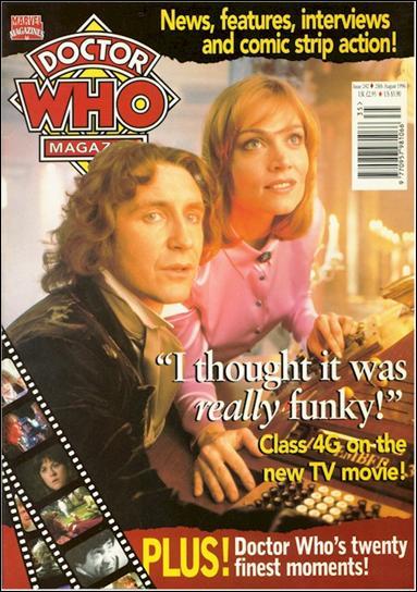 Doctor Who Magazine 242-A by Marvel UK