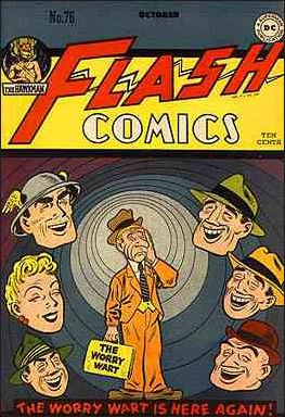Flash Comics (1939) 76-A by DC