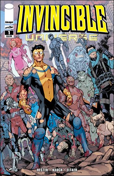 Invincible Universe 1-A by Image
