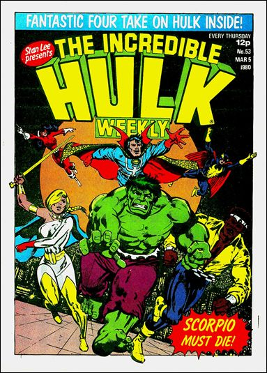 Hulk Comic (UK) 53-A by Marvel UK