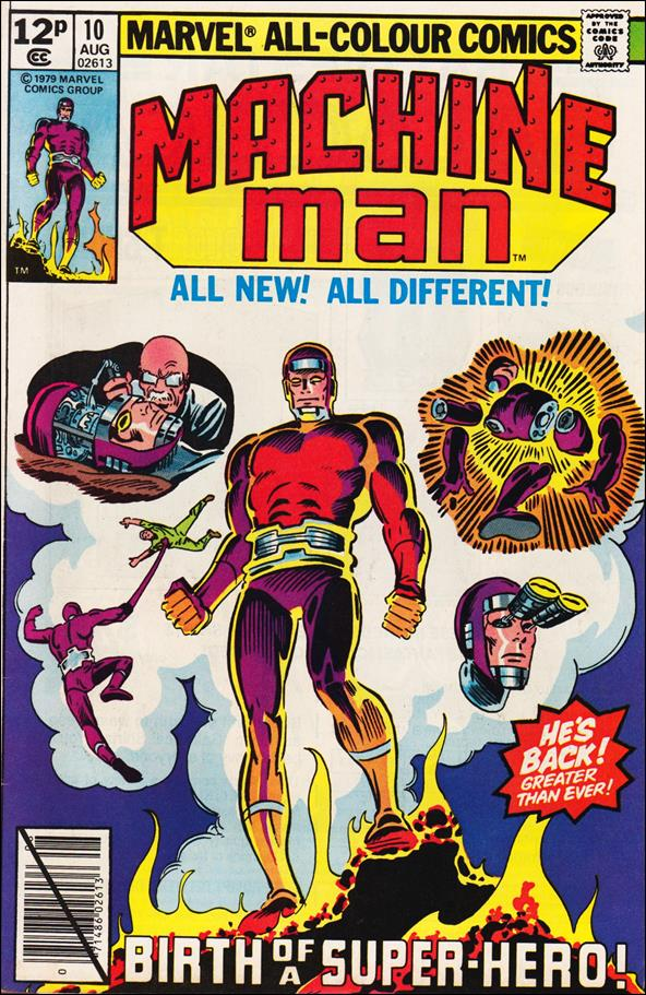 Machine Man (1978) 10-B by Marvel