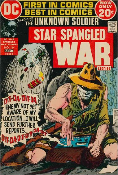 Star Spangled War Stories (1952) 164-A by DC