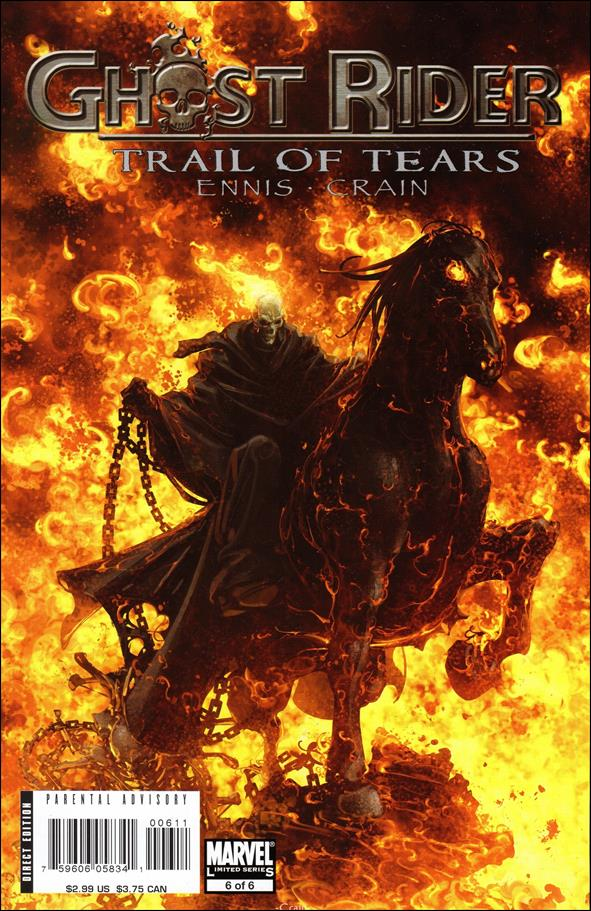 Ghost Rider: Trail of Tears 6-A by Marvel
