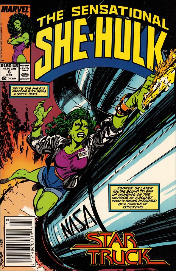 Sensational She-Hulk 6-A by Marvel